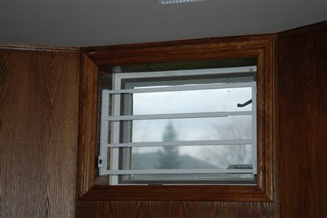 hinged removable bar hinged basement window bar 3