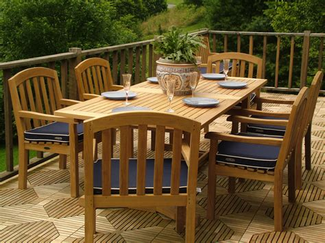 teak patio dining furniture teak furnitures choosing