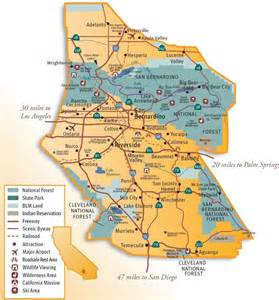 inland empire map search warehousing in the ie