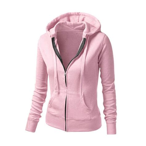 Jakethoodiee Zippersweater Rf zipper jacket hoodie sleeve sweatshirt outerwear blouse jacket ebay
