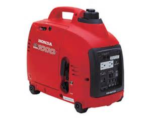 Honda Eu1000i Generator Honda Eu1000i 1000 Watt Portable Inverter Generator
