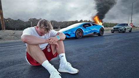jake paul lamborghini jake paul went for drive with his lamborghini stunmore
