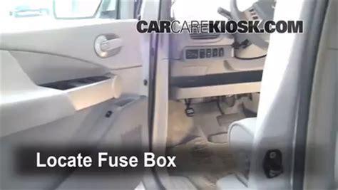 interior fuse box location   nissan quest  nissan quest