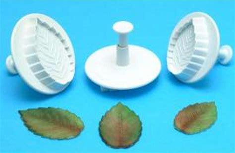 Veined Plunger veined leaf plunger cutter set of 3