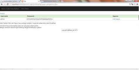 mempercantik halaman login dengan bootstrap onphpid tutorial tutorial lanjutan membuat halaman login web admin