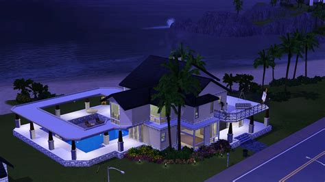 House Plans Craftsman Style Mod The Sims Breeze Beach House