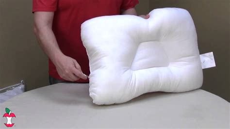 air adjustable cervical support pillow