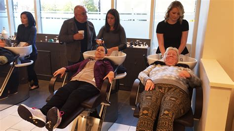 free haircuts in boston boston salon gives homeless women free haircuts and a