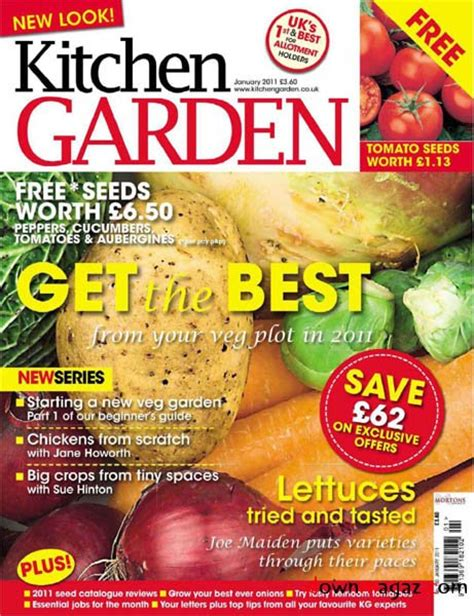 kitchen garden january 2011 187 download pdf magazines