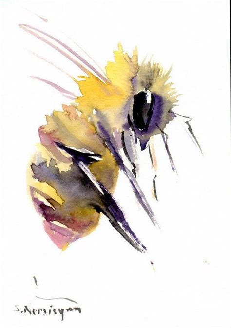 1000 images about watercolor insects on watercolors pink flowers and originals