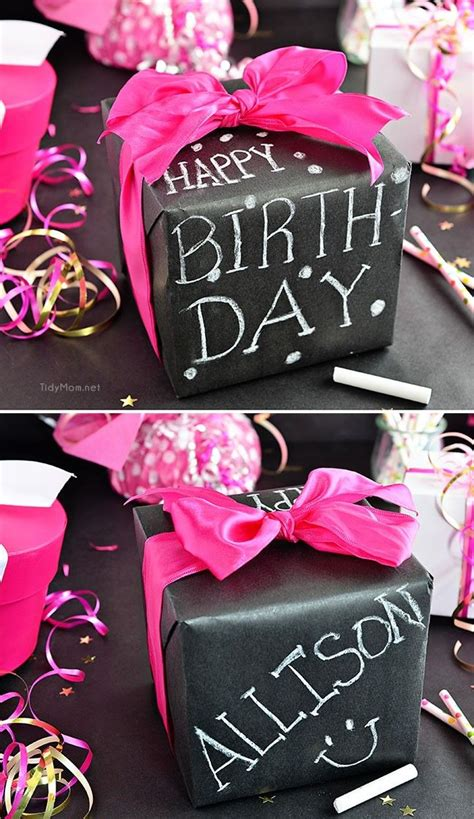 diy chalkboard gift wrap 85 best images about wrap it tag it tie it with a bow on