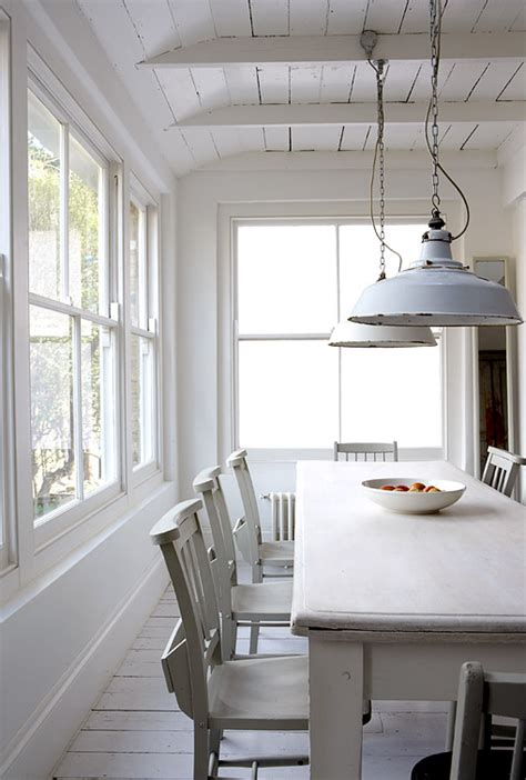 White Kitchen And Dining Room by White Rustic Kitchen Panda S House