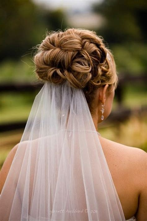 Wedding Hairstyles With Veil And Flower Big by Best 25 Wedding Hairstyles Veil Ideas On