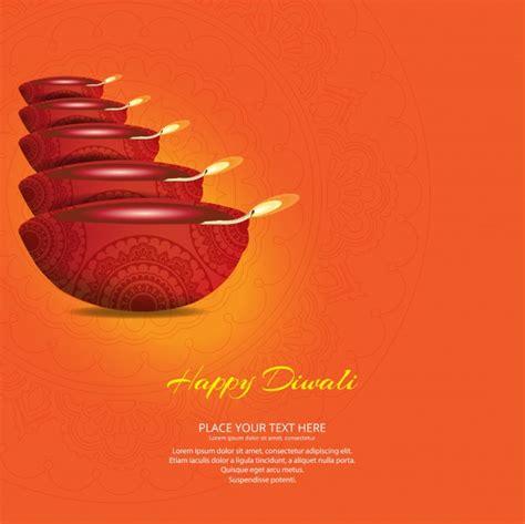 Free Diwali Cards Templates by Diwali Greeting Template Vector Premium