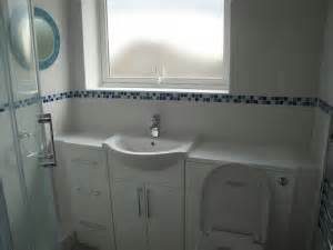 bathroom mosaic border tiles coventry bathrooms 187 white bathroom tiles with blue mosaic