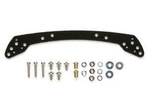 Mini 4wd Part 15472 Frp Wide Front Plate For Fully Cowled Mini 4wd gp472 frp front wide stay for fully cowled mini 4wd