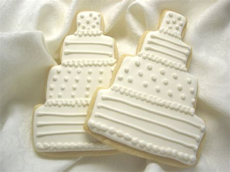 Wedding Cake Cookies by Wedding Sugar Cookies On Wedding