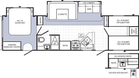 puma travel trailers floor plans puma travel trailer fifth wheel 5th wheels family