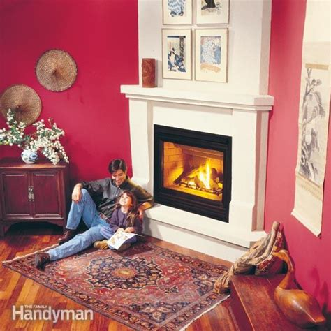 How To Install A Gas Fireplace The Family Handyman Installing A Gas Fireplace