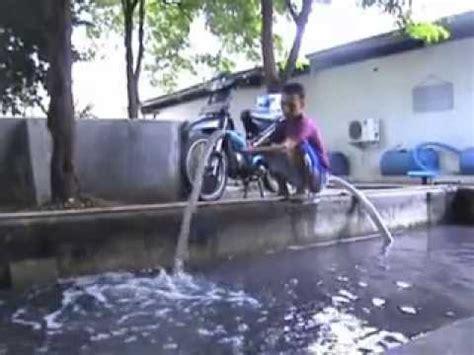 Pompa Air Tenaga Sepeda Motor cara merangkai atau merakit pompa air tenaga sepeda motor