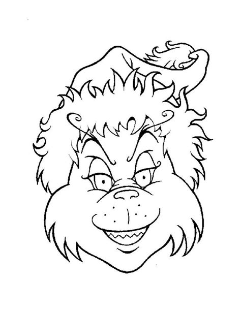 Grinch Coloring Pages The Grinch Coloring Page Coloring Home by Grinch Coloring Pages