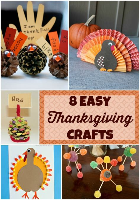 thanksgiving crafts for eight easy thanksgiving crafts