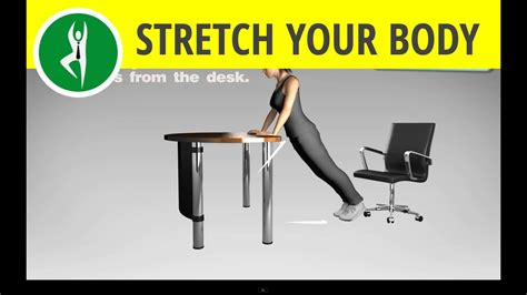 office exercise routine total abs exercise and arms workout at office desk