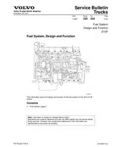 Fuel System Volvo Truck Fuel D13
