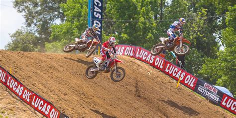 Topi Jaring Print Mx Offroad Trail Mx dungey wins at budds creek national motocross road