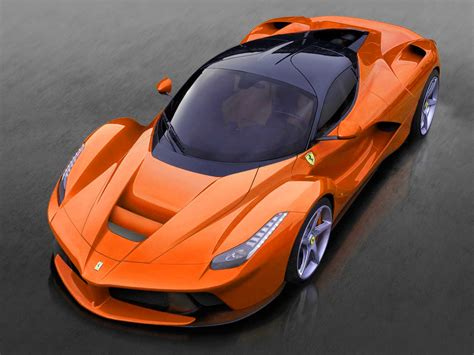orange sports cars ferrari laferrari orange image 146