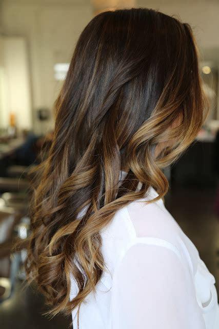 ombre brunette carmel dark brown hair with caramel highlightsugg stovle