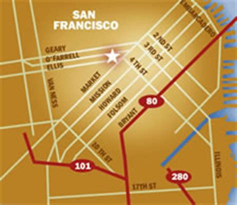 union square parking garage locations rates maps