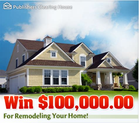 Enter Publishers Clearing House Sweepstakes - win a home makeover sweepstakes home remodel contest pch blog