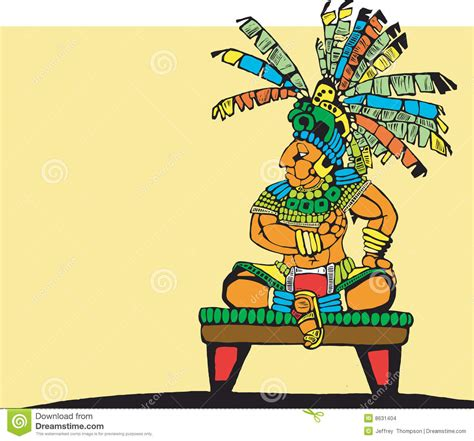 Of A King mayan king stock images image 8631404
