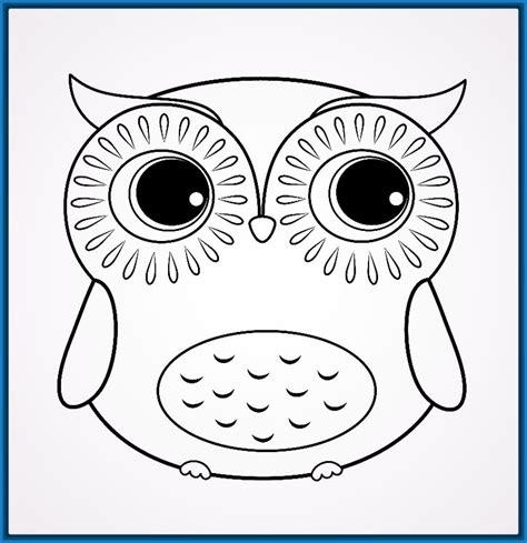 Imagenes Para Dibujar Buhos | dibujos para colorear buhos infantiles archivos dibujos