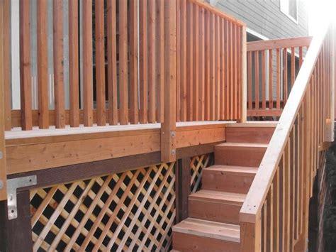 corrimano per scale in legno corrimano in legno fai da te legno