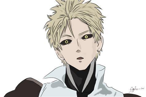 Kaos Anime Genos One Punch genos one punch by eggyartha on deviantart