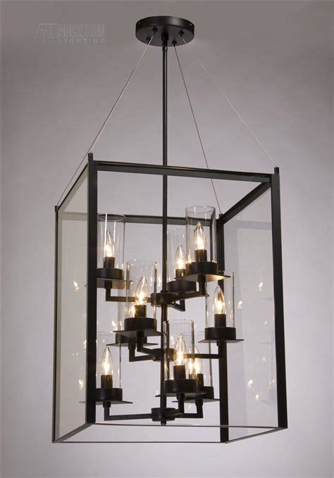 Modern Foyer Lighting Fixtures steven and chris sc659 modern contemporary foyer light sc659