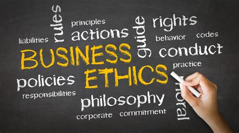 the of ethics in business operations books how to create an ethical work environment forefront magazine