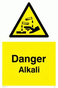 Wall Sticker Names alkali from safety sign supplies