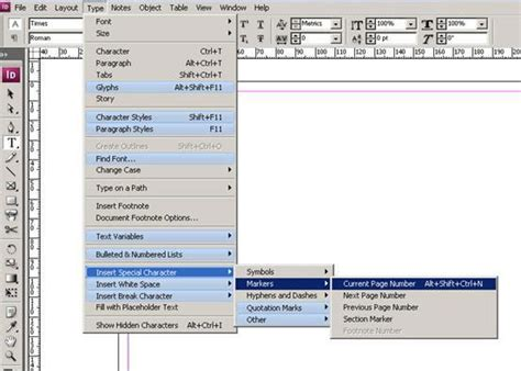 indesign creating page numbers indesign will automatically number pages in the style you