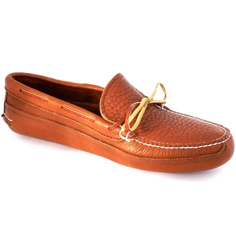 Handcrafted Moccasins - sam s clan buffalo hide sole canoe moc handmade