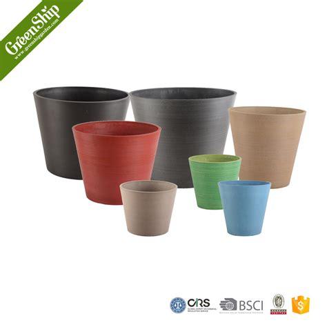 Cheap Plastic Garden Planters by Uv Protetive Plastic Plant Pots Wholesale Greenship