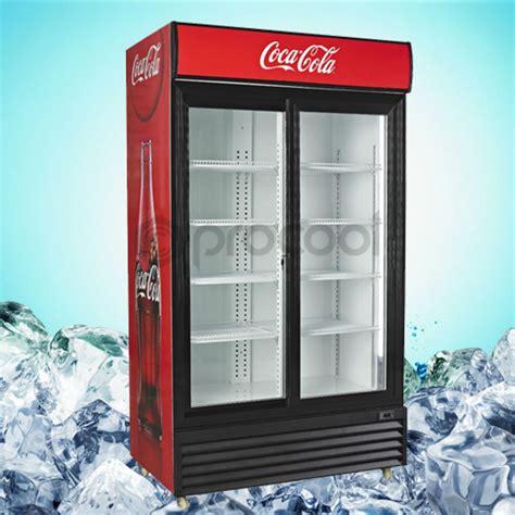 Kulkas Coca Cola glast 252 r aufrecht k 252 hlschrank