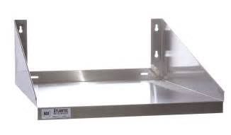 wall mounted stainless steel kitchen shelf for microwave