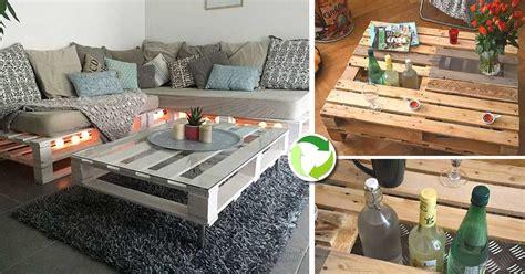 tavoli originali fai da te tavolini con bancali molto originali 20 idee lasciatevi