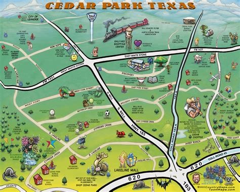 cedar park texas map map of cedar park texas