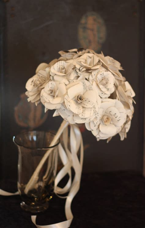 Handmade Bouquet - themed wedding accessories ceremony reception decor