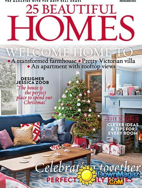 house design magazines uk 25 beautiful homes december 2014 187 download pdf