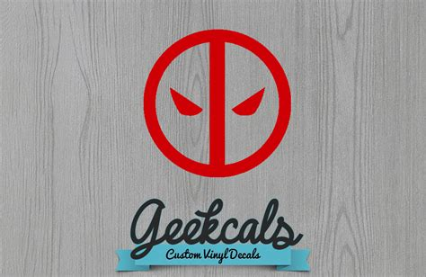tri state yorkie rescue geekcals deadpool logo decal design your space